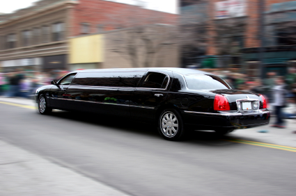 A photo of a Toronto limo